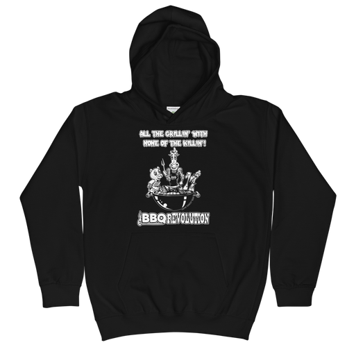 All the Grillin' None the Killin'! Kids Hoodie