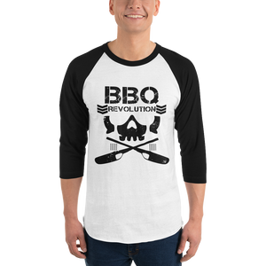 BBQ Club 3/4 Sleeve Raglan Shirt