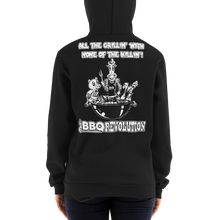 Load image into Gallery viewer, All the Grillin' None the Killin'! Hoodie Sweater