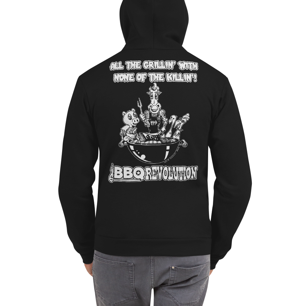 All the Grillin' None the Killin'! Hoodie Sweater