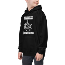 Load image into Gallery viewer, All the Grillin' None the Killin'! Kids Hoodie