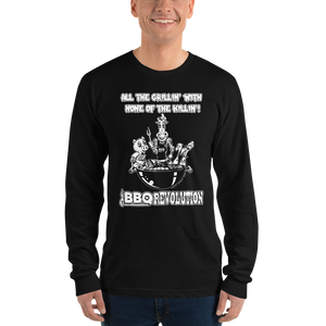 All the Grillin' None the Killin'! Long sleeve t-shirt