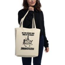 Load image into Gallery viewer, All the Grillin' None the Killin'! Eco Tote Bag