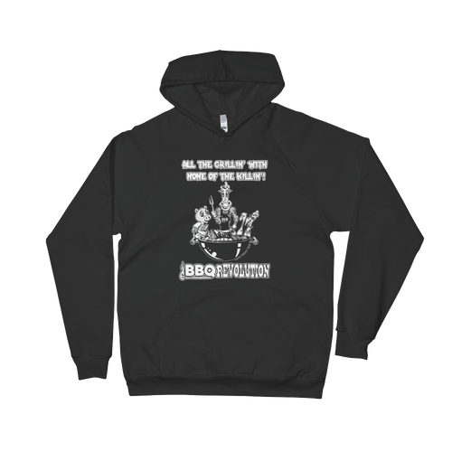 All the Grillin' None the Killin'! Unisex Fleece Hoodie
