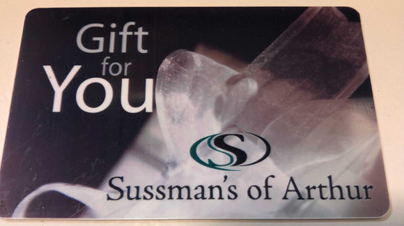 Sussman's Gift Certificates