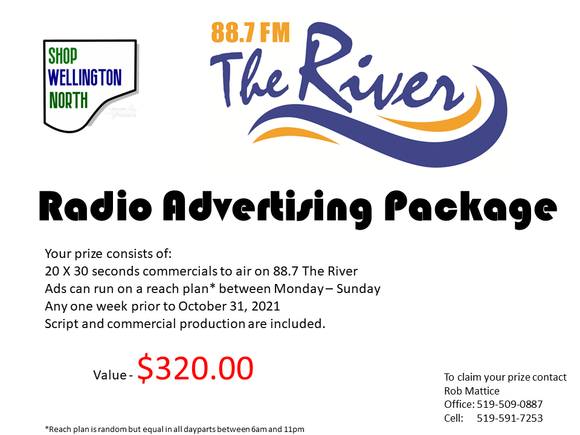 Radio Advertisement on 88.7 The River