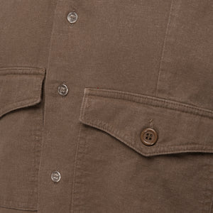 Block Brown Beige Shirt