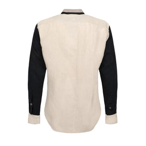 Block Black Beige Shirt