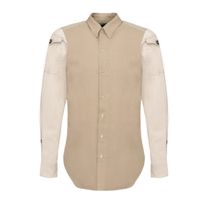 Pocket Beige Shirt