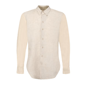 Beige Block Shirt