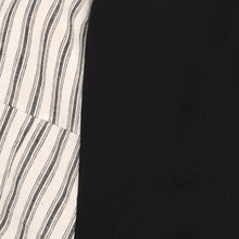 Load image into Gallery viewer, Black Stripe Knot Dress