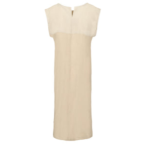 Linen Pleat Dress