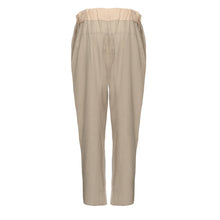 Load image into Gallery viewer, Beige Cream Block Trousers