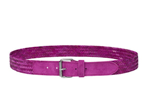 Purple /HANDWOVEN BELT / Unisex / Handwoven / Available in 3 sizes