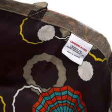 Load image into Gallery viewer, Tote Bag / Brown Spider Wax Print Lining / Recycled Ankara TOTE BAG / Made in Uganda / Upcyled / Limited Edition