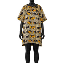 Load image into Gallery viewer, Printed Cotton Dress