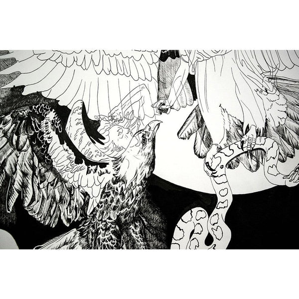 """Angels, Harpies, and the War of False Dichotomies,"" Signed Limited Edition Print"