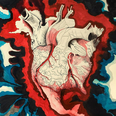 """Bleeding Heart,"" Signed Limited Edition Print"