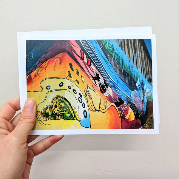 Mural greeting card pack