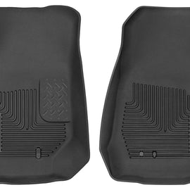 2007-2017 Jeep Wrangler 2 Door Front Floor Liners