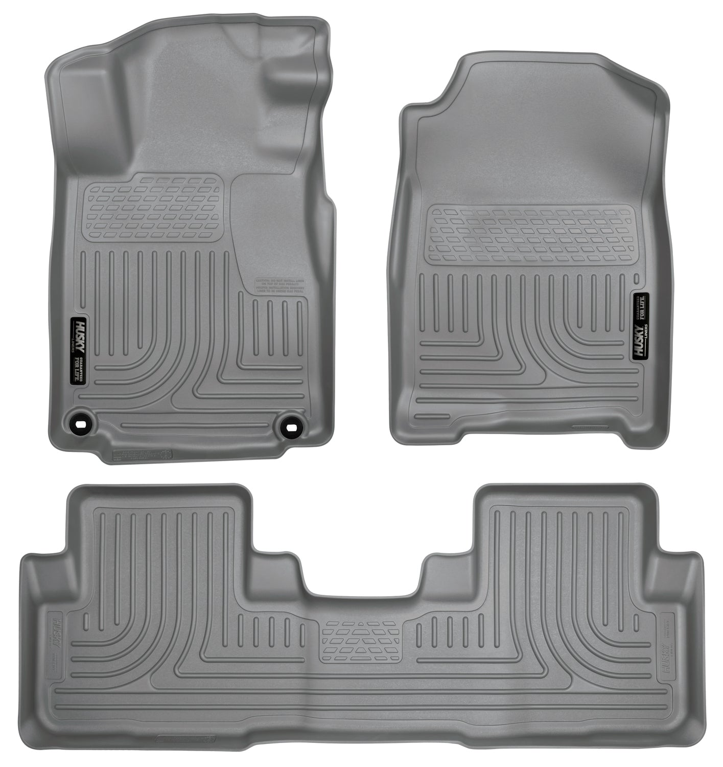 2012-2014 Honda CR-V Front & 2nd Seat Floor Liners