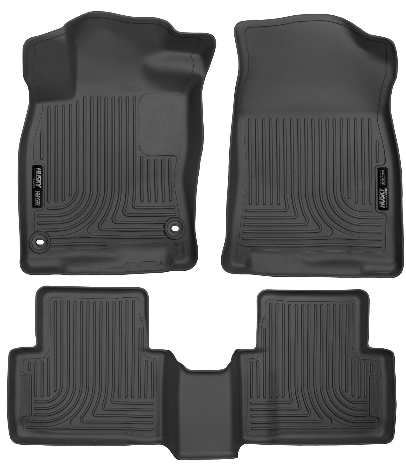 2016-2018 Honda Civic Coupe, 2016-2018 Honda Civic Sedan Front & 2nd Seat Floor Liners
