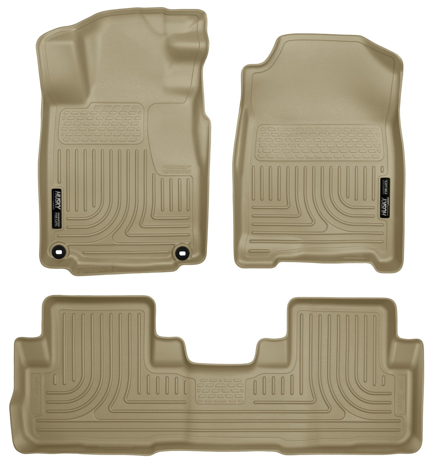 2015-2016 Honda CR-V Front & 2nd Seat Floor Liners