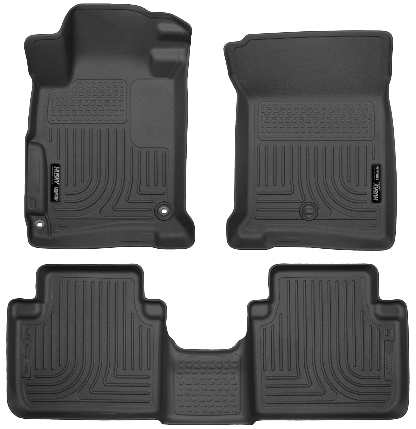 2013-2017 Honda Accord Transmission:Automatic Sedan Front & 2nd Seat Floor Liners