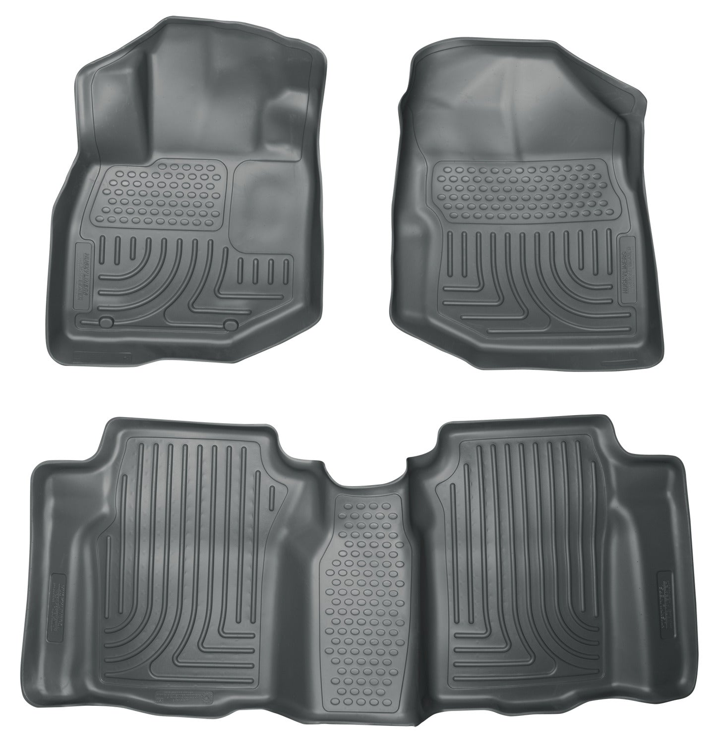 2009-2013 Honda Fit Front & 2nd Seat Floor Liners
