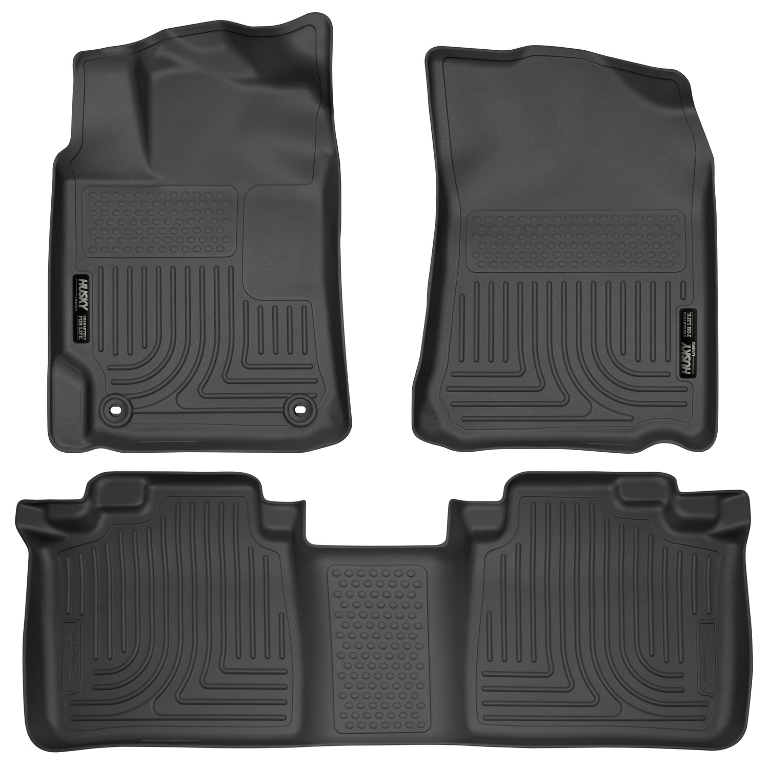 2013-2018 Toyota Avalon Hybrid Limited Front & 2nd Seat Floor Liners