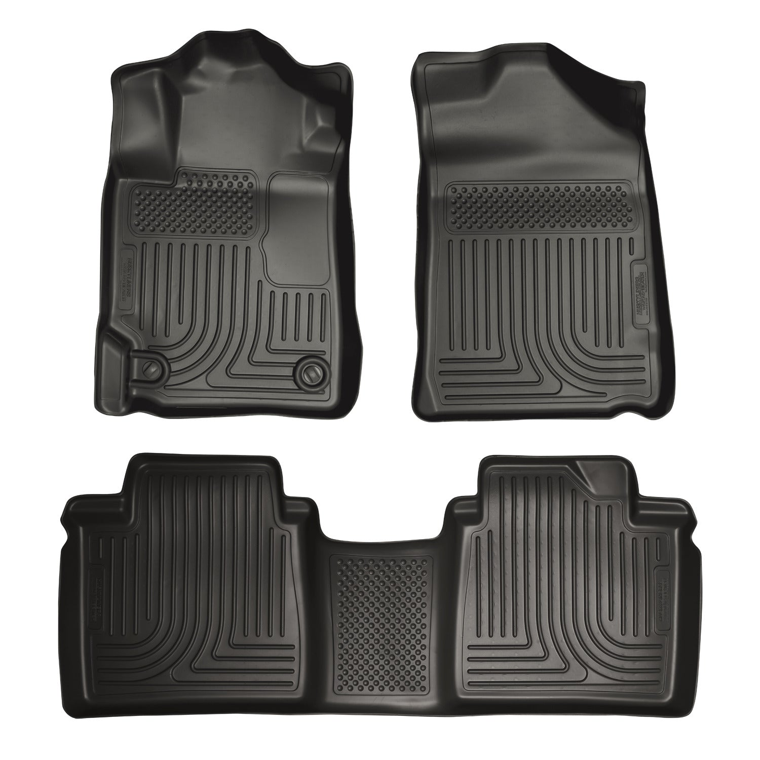 2007-2011 Toyota Camry Front & 2nd Seat Floor Liners