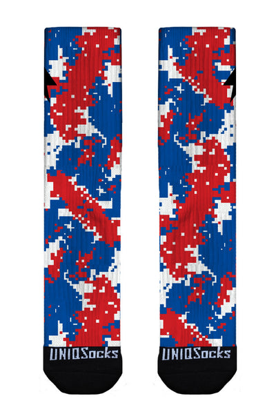 Red White & Blue Digi Camo