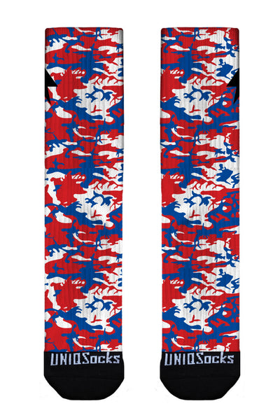 Red White & Blue Camo
