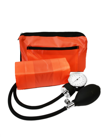 Orange Aneroid Sphygmomanometer