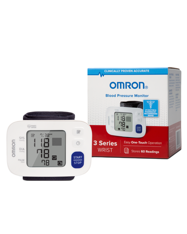 OMRON 3 Series® Wrist Blood Pressure Monitor (BP6100)