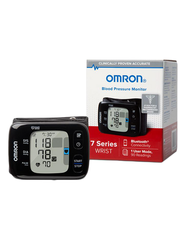 OMRON 7 Series® Wireless Wrist Blood Pressure Monitor (BP6350)
