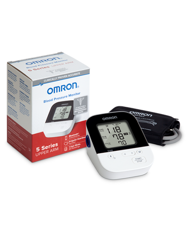 OMRON 5 Series® Wireless Upper Arm Blood Pressure Monitor (BP7250)