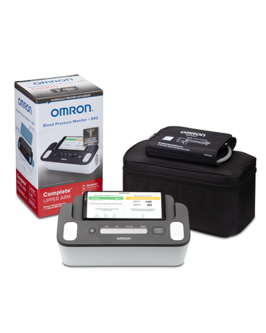 Omron Wireless Upper Arm Blood Pressure Monitor + EKG (BP7900)