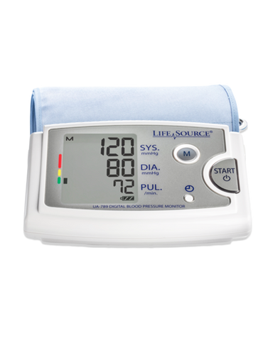LifeSource Premium Upper Arm Blood Pressure Monitor with Extra Large (XL) Cuff (UA-789AC)