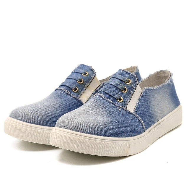 Canvas - Denim Sneakers