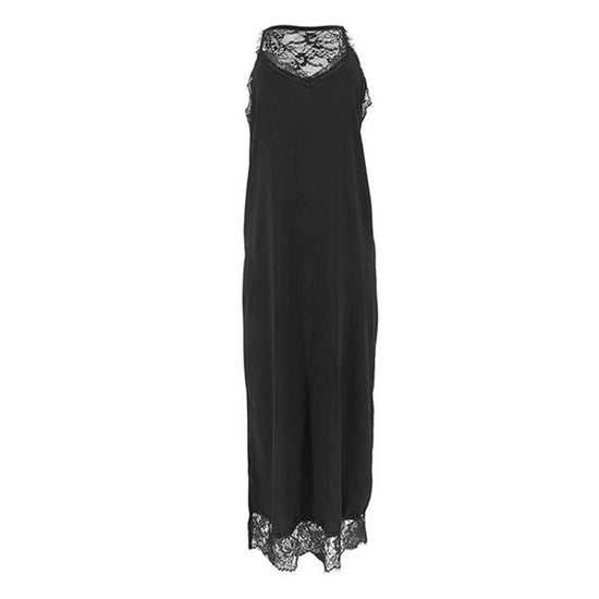 Georgia - Mouwloze Lace Maxi Dress