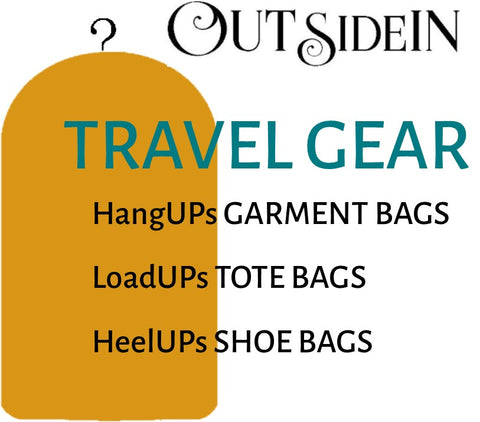 TRAVEL GEAR COLLECTIONS by OUTsideIN