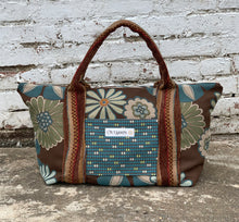 Load image into Gallery viewer, Teal Tiles Tote Bag - 1008T