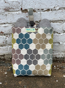 hexed shoe bag