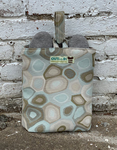 pebbles shoe bag