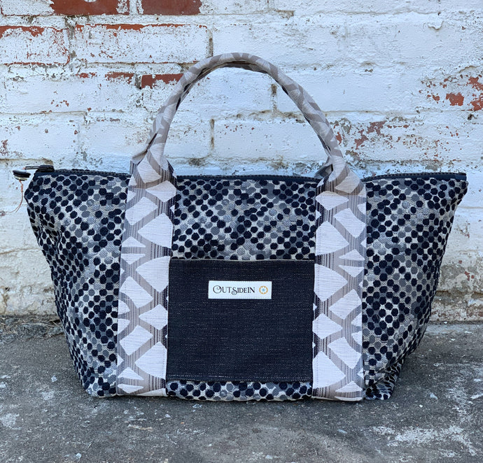 Charcoal Tote Bag - 1039T