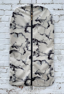 Marble Plush Garment Bag - 1035G