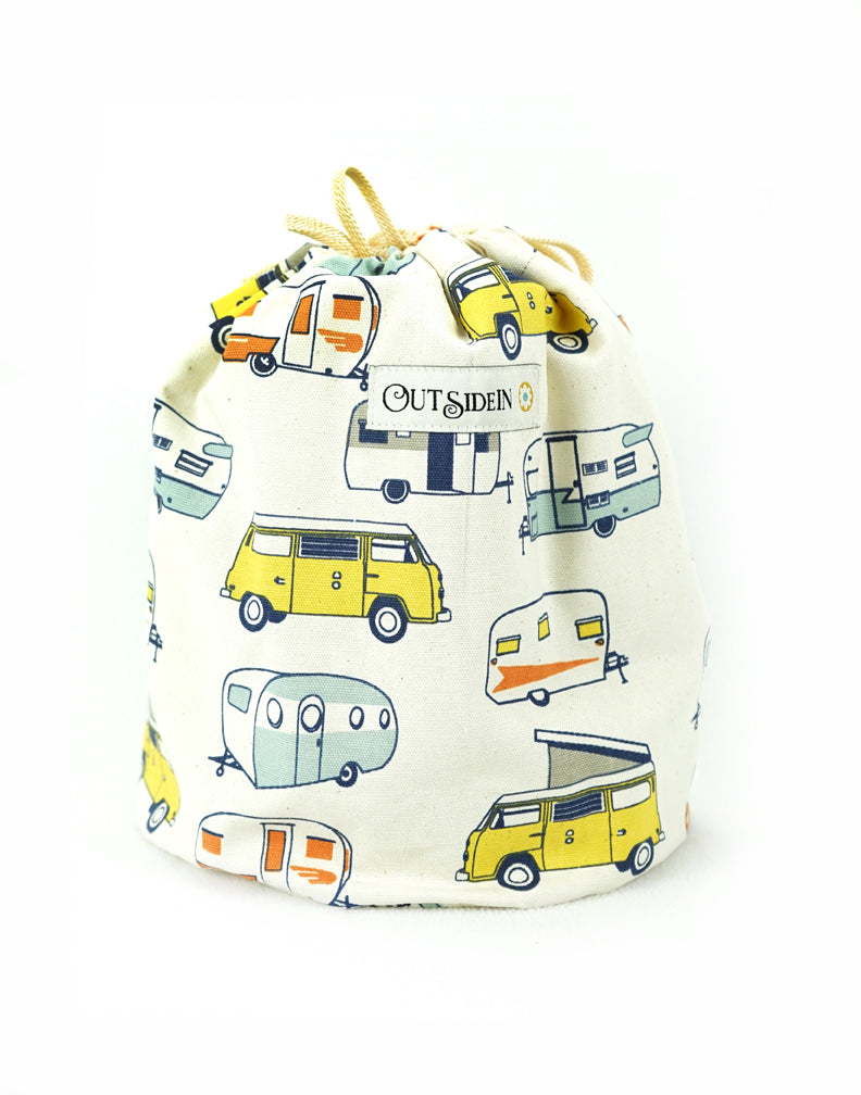 Happy Camper CinchedUP Bucket Bag