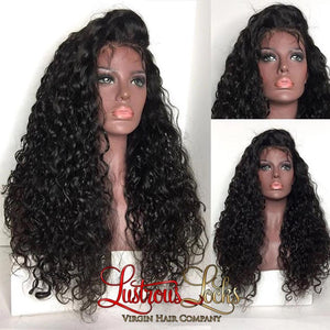 13x6 Lace Frontal Curly Wig - Lustrous Locks Hair Co.