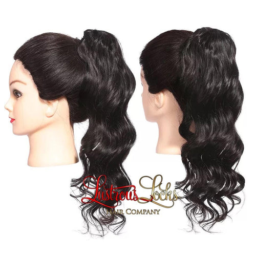 Luxe Wave Draw String Ponytail